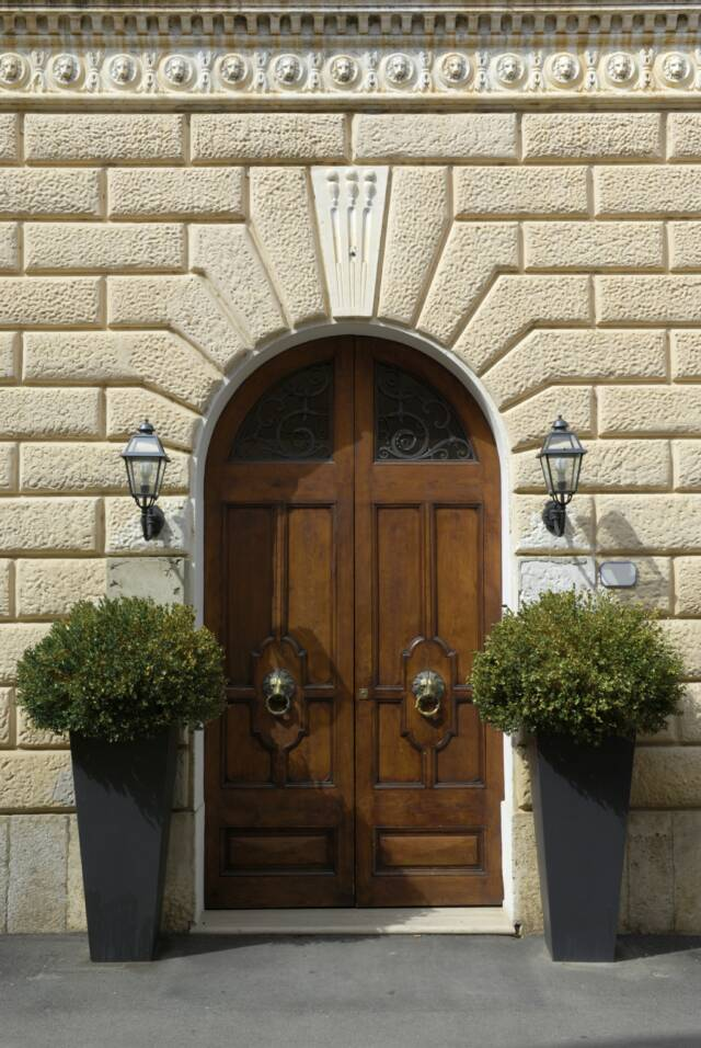 Tuscan door- Tuscan Weddings and Events