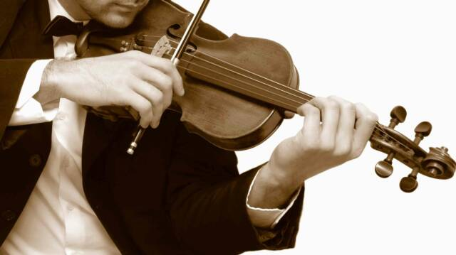 solo violinist for ceremonies and cocktail- Tuscan Weddings and Events